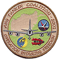 Emblem of the 128th Air Expeditionary Group (Operation Enduring Freedom)