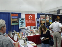 2008 conference booth