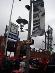 Ashburn Alley, Citizens Bank Park, Philadelphia, named after Baseball Hall of Famer Richie Ashburn