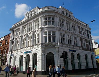 Barclays Bank building, Sutton, Greater London