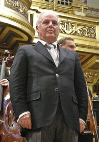 Daniel Barenboim, Music Director of the Berlin State Opera; he previously served as Music Director of the Orchestre de Paris and La Scala in Milan.