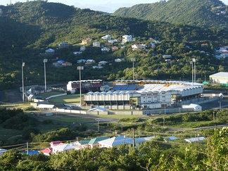 Cricket is a popular sport in the country. Seen here is the Daren Sammy Cricket Ground which hosts international cricket matches for the West Indies.