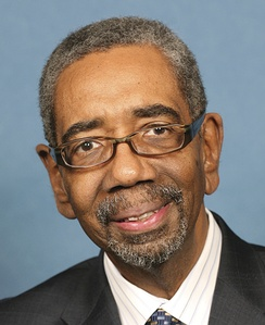 Bobby Rush, who was re-elected as the U.S. Representative for the 1st district in 2010