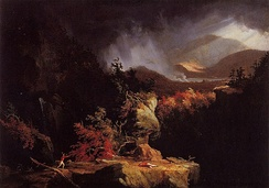 Thomas Cole, Gelyna (View near Ticonderoga), 1826–1828, Fort Ticonderoga Museum
