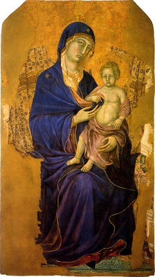 Madonna with Child, c. 1300–1305.