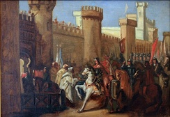 Entrance of James I of Aragon at Murcia in 1266