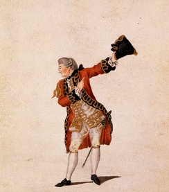 David Garrick as Benedick, by Jean-Louis Fesch [fr], 1770