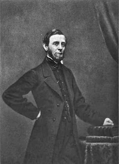 George Palmer Putnam, pictured, partnered with John Wiley in 1838 to form Wiley & Putnam