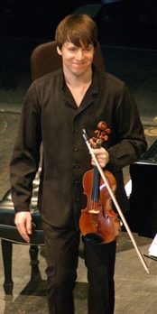 Joshua Bell performed the violin for the film score.