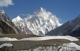 K2, the 2nd highest of the world