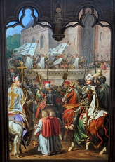 Teutonic Knights enter Malbork castle in 1309