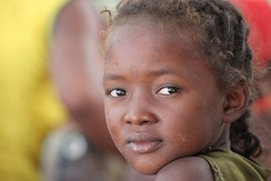 A Malagasy child