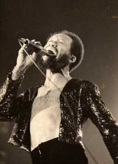 Maurice White in Munich, Germany in 1975