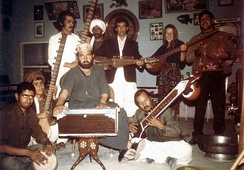 Musicians in Herat, Afghanistan in 1973