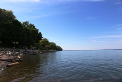 Niagara-On-the-Lake beach, June 2014