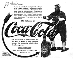 Coca-Cola ad from 1914 with J. J. Callahan