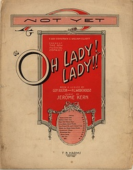 Sheet music from Oh, Lady! Lady!!