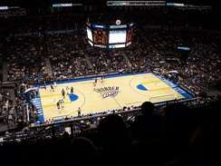 The Oklahoma City Thunder moved to the state in 2008, becoming its first permanent major league team in any sport