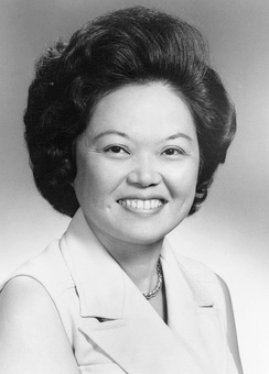 Patsy Mink during her first career in Congress
