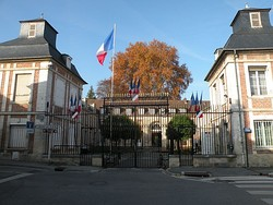 Prefecture building of the Oise department, in Beauvais
