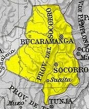 The Socorro Province was the site of the genesis of the independence process.