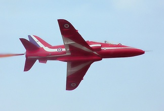 A Hawk of the Red Arrows