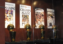 The Spurs won five championships, all with Duncan and Popovich.