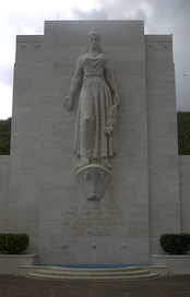 Columbia at the National Memorial Cemetery of the Pacific