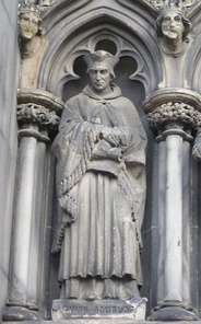 Statue of Douglas on St Giles' Cathedral, Edinburgh