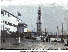 The Harem and Tower Harbour of Zanzibar (p.234), London Missionary Society[20]