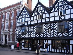 The Tudor Café in Bore Street was built in 1510