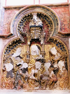 Statues in the Cathedral of Saint Martin, Utrecht, attacked in Reformation iconoclasm in the 16th century.[8]