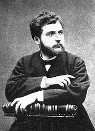 Georges Bizet photographed in about 1860