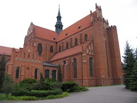 Cathedral Basilica of the Assumption in Pelplin, one of the largest churches in Poland