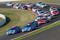 Opening lap of 2012 WTCC Race of Japan