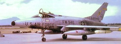 F-100D of the 401st Tactical Fighter Wing[note 2]