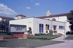 "Fullerton College, the oldest community college (originally ""junior college"") in continuous operation in California, established in 1913"
