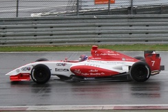 Rossi at the 2011 Nürburgring World series by Renault round