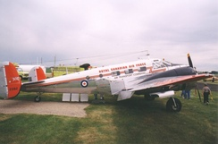Beechcraft C-45 Expeditor in RCAF Air Transport Command markings