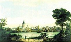 View of Bochum in 1840.