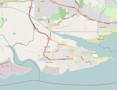 Canvey Island OSM map 2010.jpg