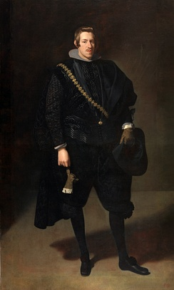 Portrait of the infante Don Carlos by Diego Velázquez, 1626/27