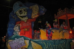 2006: A Knights of Chaos float satirizes the U.S. Army Corps of Engineers, responsible for the failed levees in New Orleans