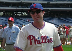 Chase Utley, Phillies Photo Day 2008