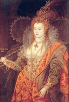 "Virginia: usage as a girl's name was inspired by Elizabeth I, the ""Virgin Queen""."