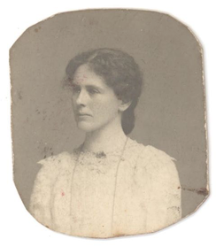 Ellen Isabel Jones as a young woman (undated, probably 1890's)