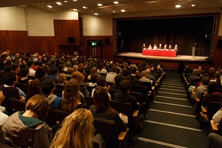 The 24 March 2014 Scottish independence debate.