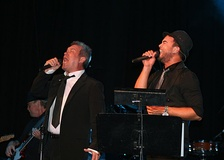 Guy Sebastian and Jimmy Barnes 6 March 2008 State Theatre