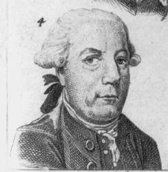 1784 engraving of Laurens as President of the Continental Congress