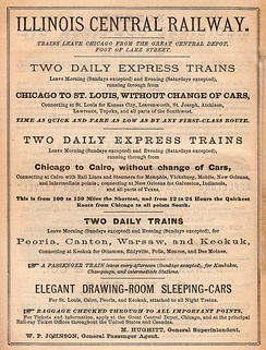 Illinois Central ad (1870)
